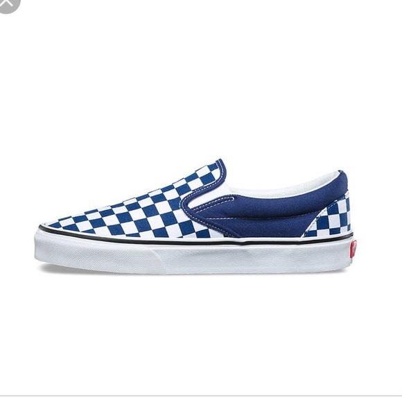 vans checkerboard navy blue off 63